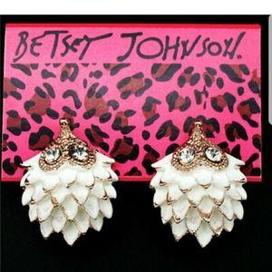 Betsey Johnson Hedgehog Earrings